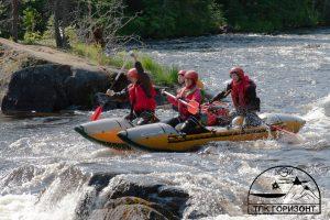 Спортивно-водный поход по реке Кереть республики Карелия